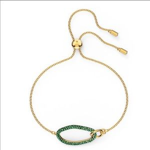 Swarovski THE ELEMENTS BRACELET, GREEN, NWT